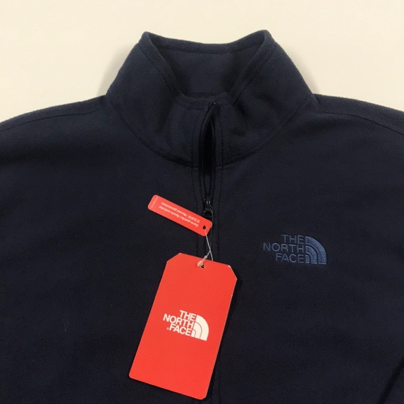 The North Face Other - 🆕 NORTH FACE Men's Small Blue 1/4 zip Fleece